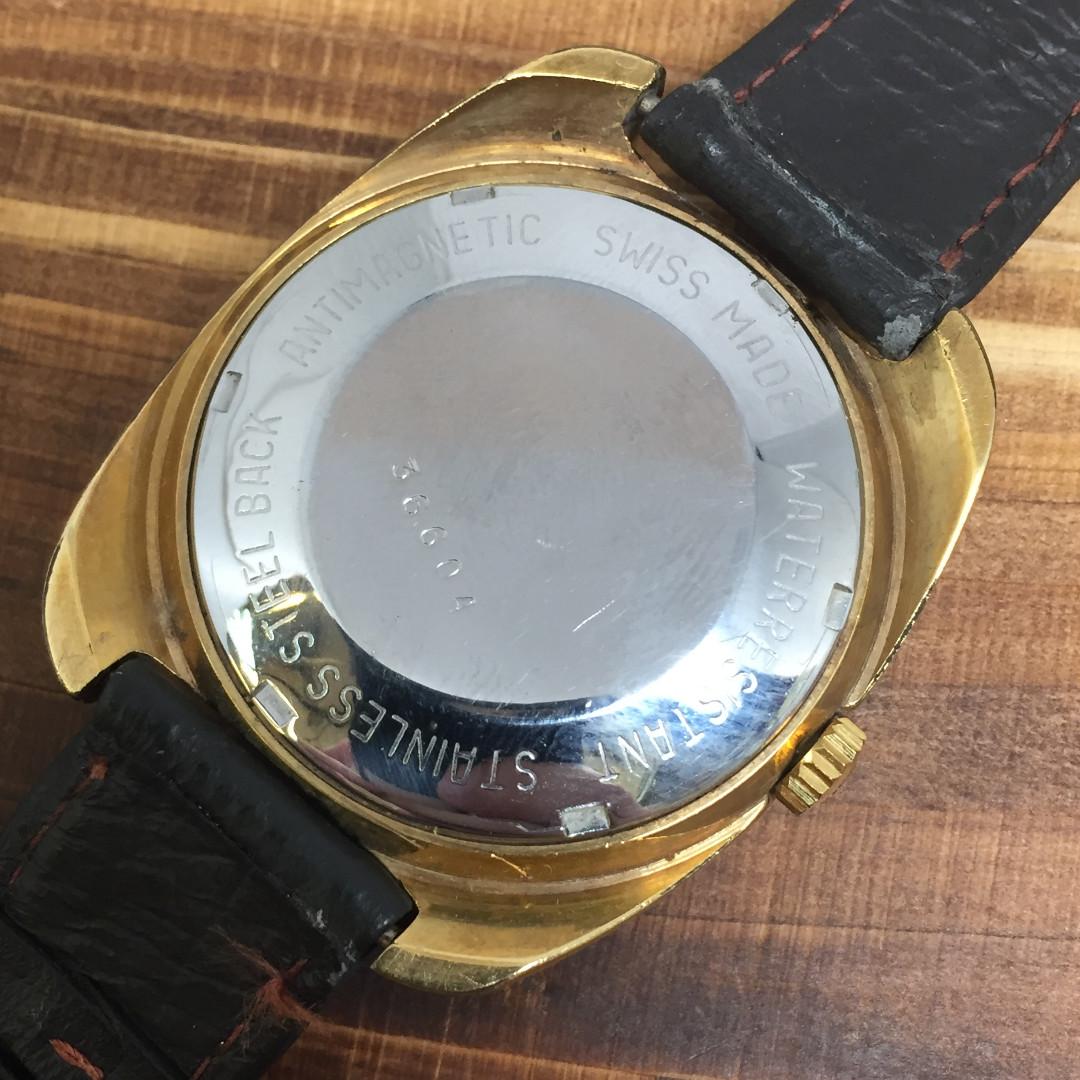 b0134db7a86 Lanco Incabloc Automatic Day Date Vintage Watch