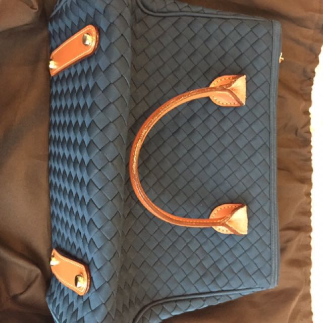 Linette Blue Handbag