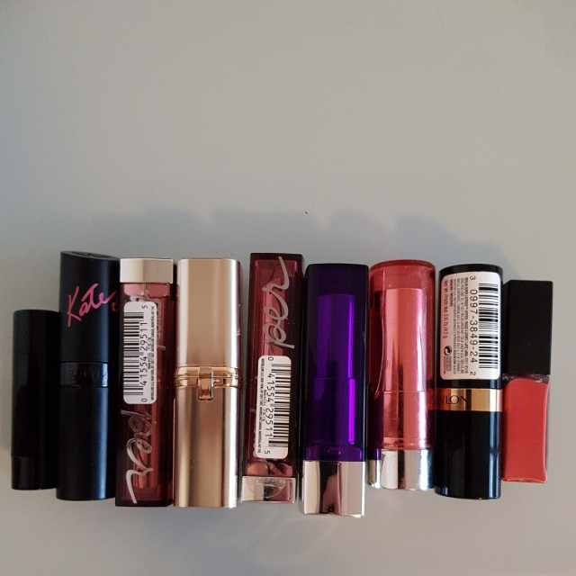 Lipstick bundle (lot of 9)
