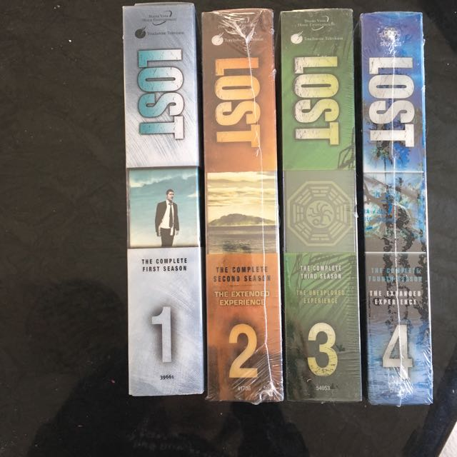 Lost DVD series