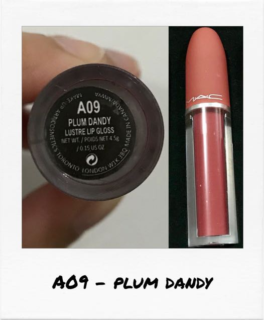 Mac Cosmetics • Liquid Lipsticks