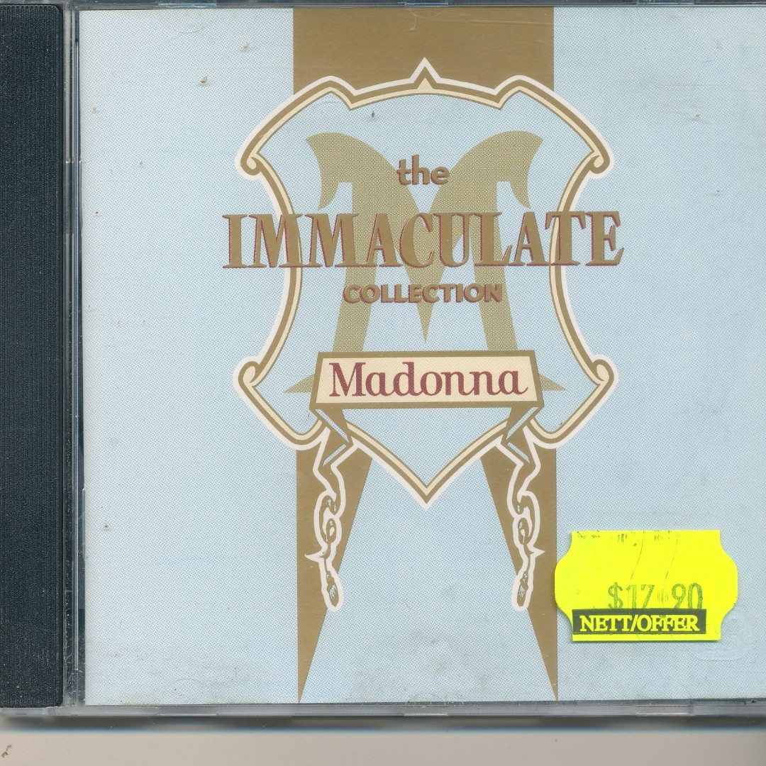 cd madonna 1990 the immaculate collection