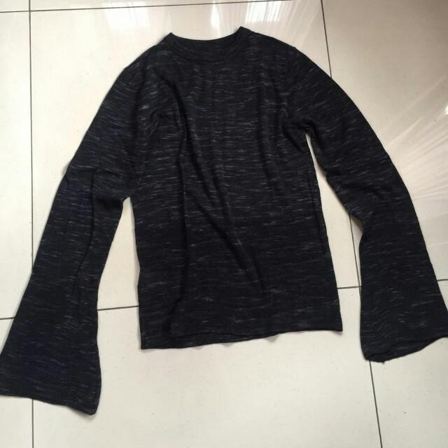 Mango black knit Wear size s fit to m