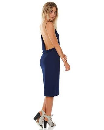 maurie and eve annika dress navy