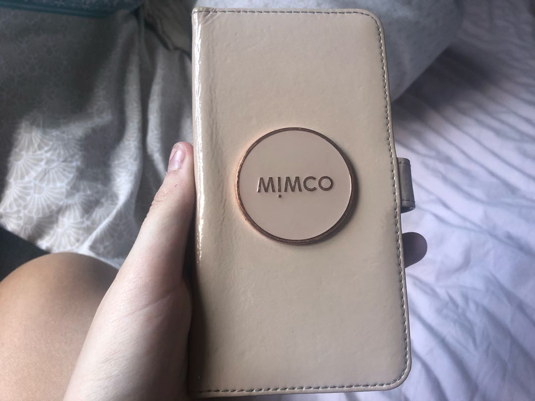 san francisco 2dade cbeb8 Mimco iPhone 6/7/8 plus flip cover