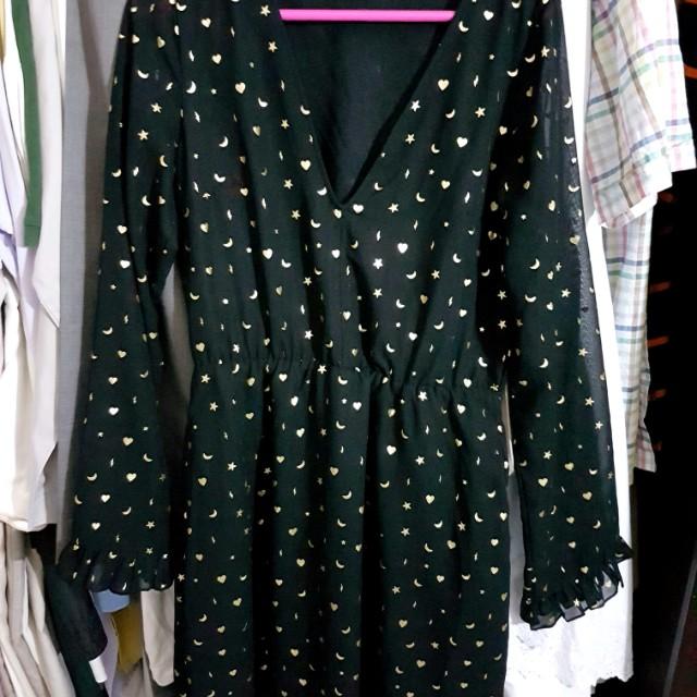 Monki moon & star dress 🌜🌟