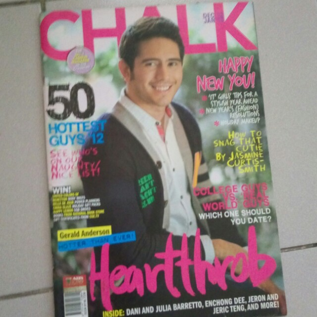More Chalk mag back issues