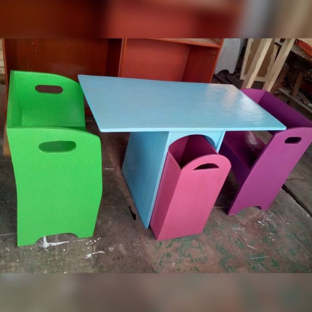 MTO Wooden Study Table for kids