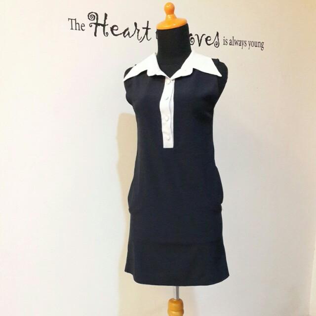 Navy school dress
