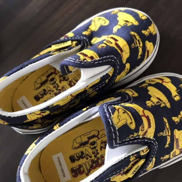 8110546c80 New Beatles Limited Edition Vans baby shoes Size 22