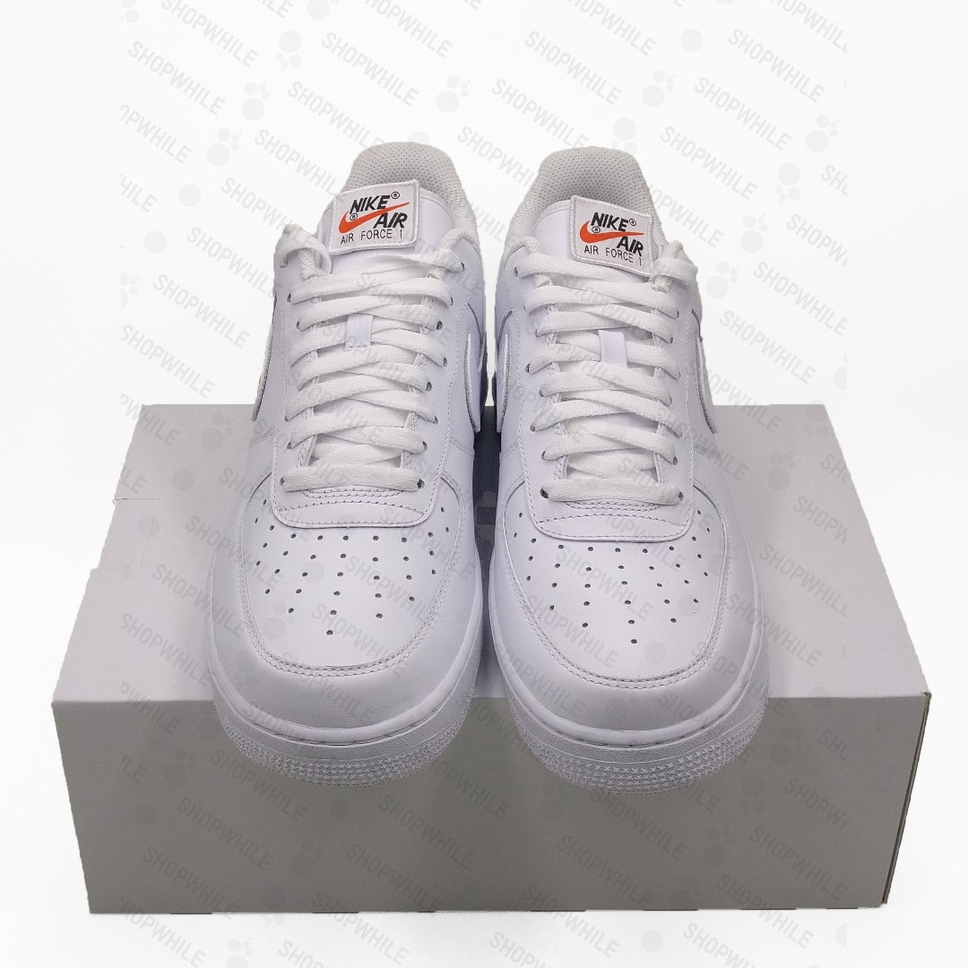 NIKE Air Force 1 Low Swoosh Pack All Star 2018 White (AH8462