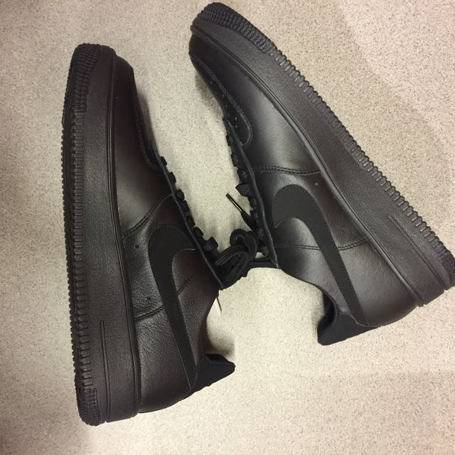 Nike AIR FORCE 1 ULTRAFORCE LEATHER 全黑