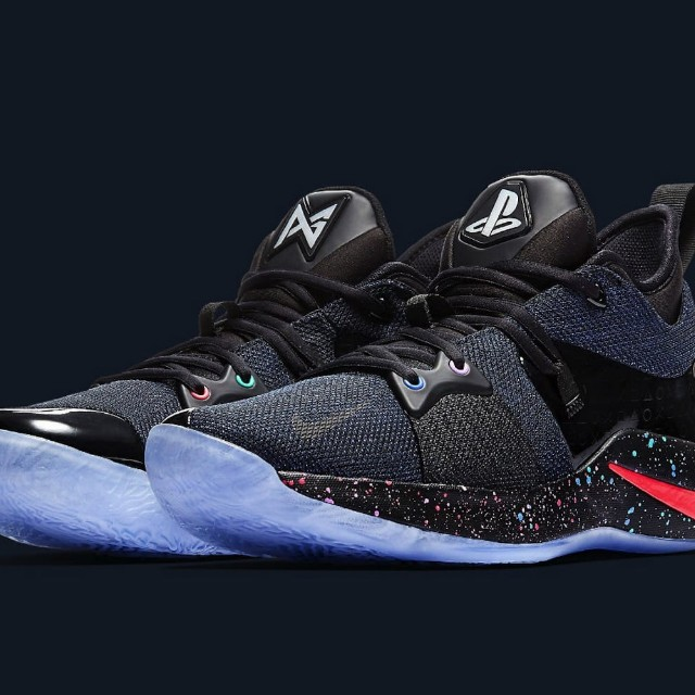 nike pg2 playstation shoes mens fashion footwear on carousell