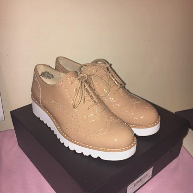 Nine West Platform Oxford Shoes