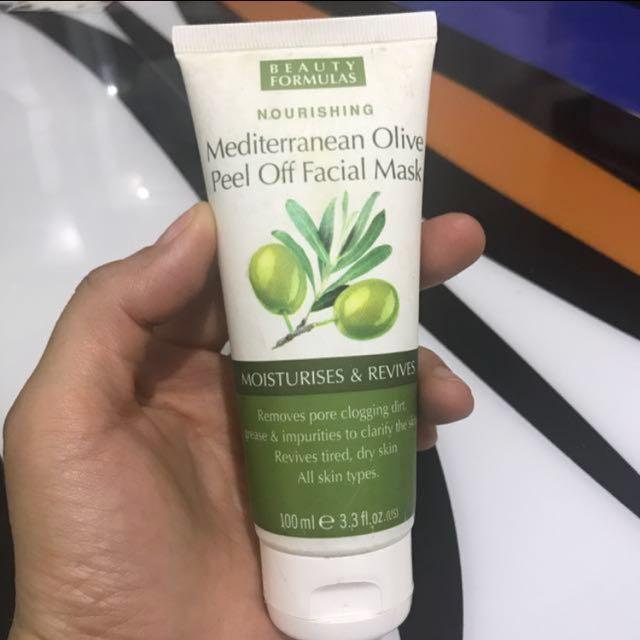 Olive Peel Off Facial Mask