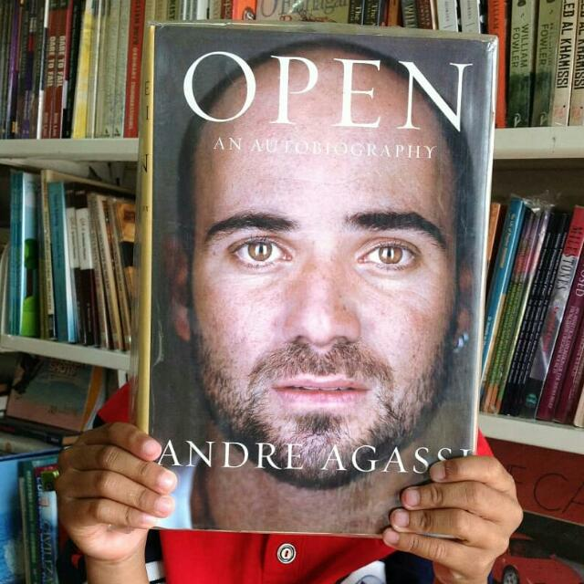 Open An Autobiography By Andre Agassi Ccda Fa on Aes E Liry Complete Journal Volume Issue Post Car