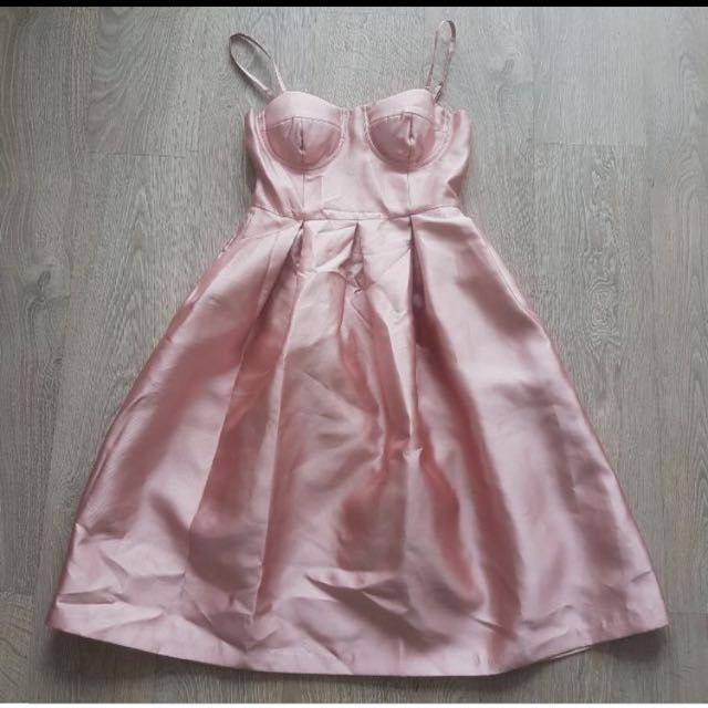 Pink Bustier Dress REDUCED