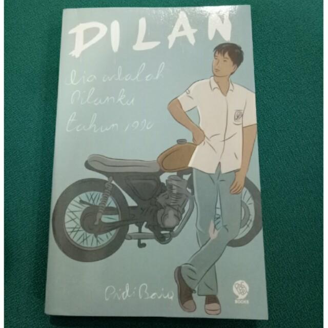 """Preloved Novel """" Dilan 1990 """""""
