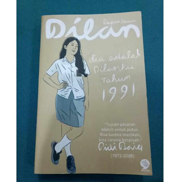 """Preloved Novel """" Dilan 1991 """""""