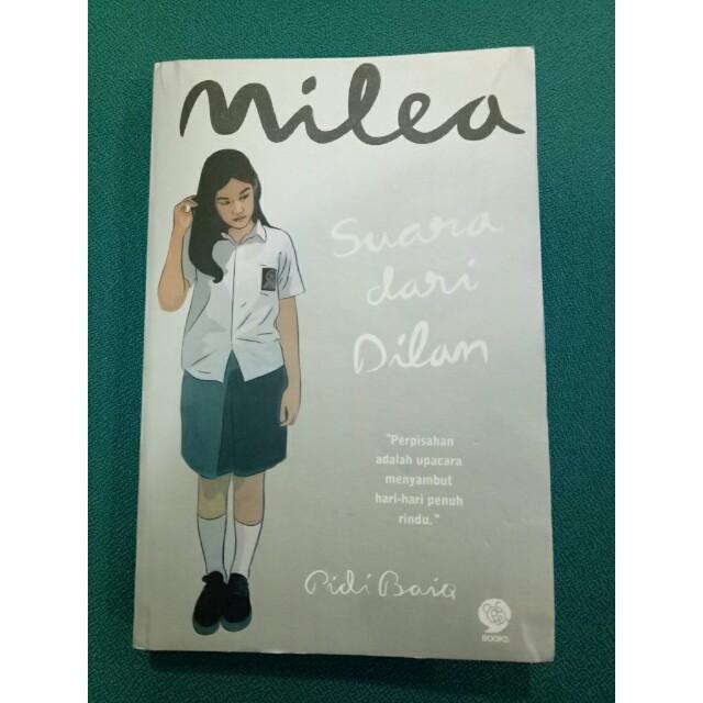 """Preloved Novel """" Milea """""""
