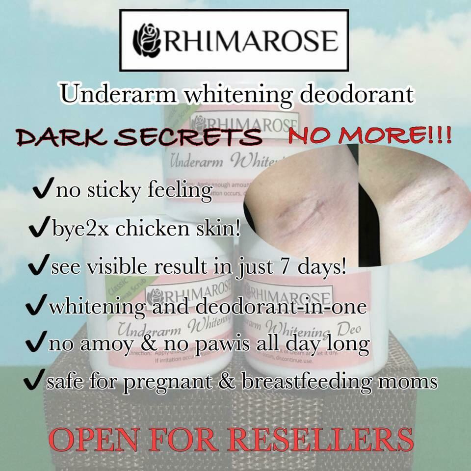 RHIMAROSE UNDERARM WHITENING
