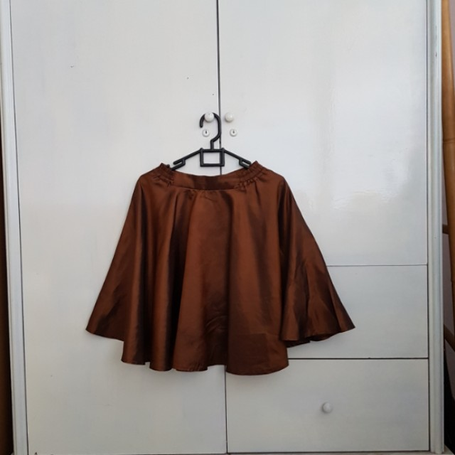 Rok mini miniskirt cokelat