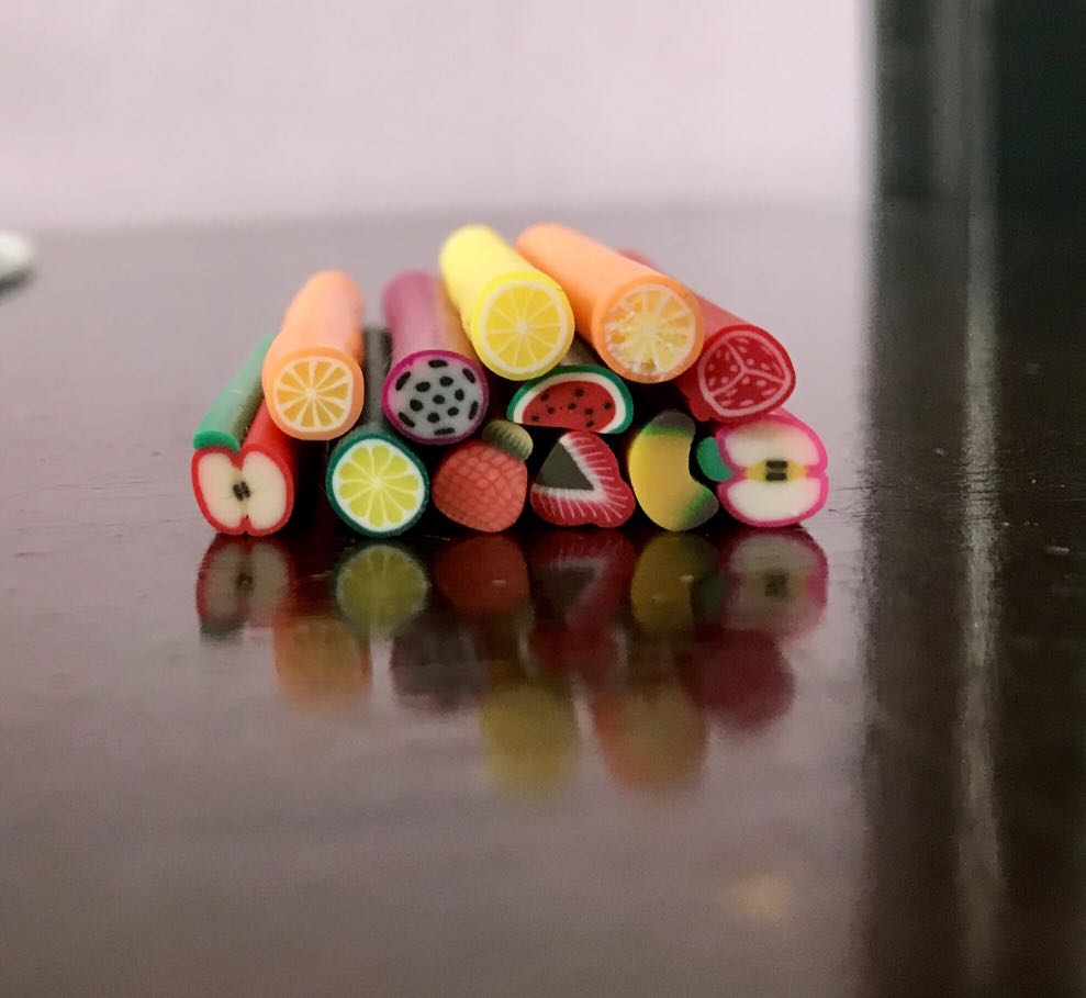 Rubber fruits