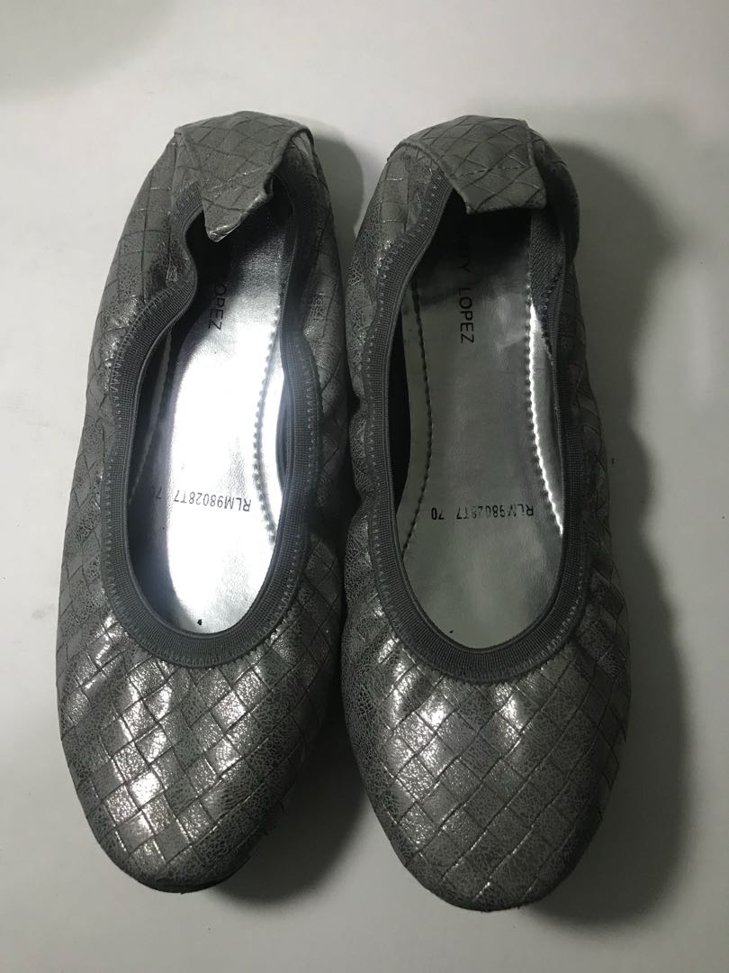 Rusty Lopez Silver Doll Shoes