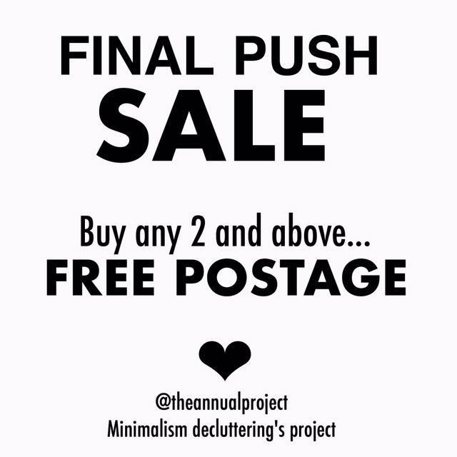 SALE - Buy 2 for FREE POSTAGE