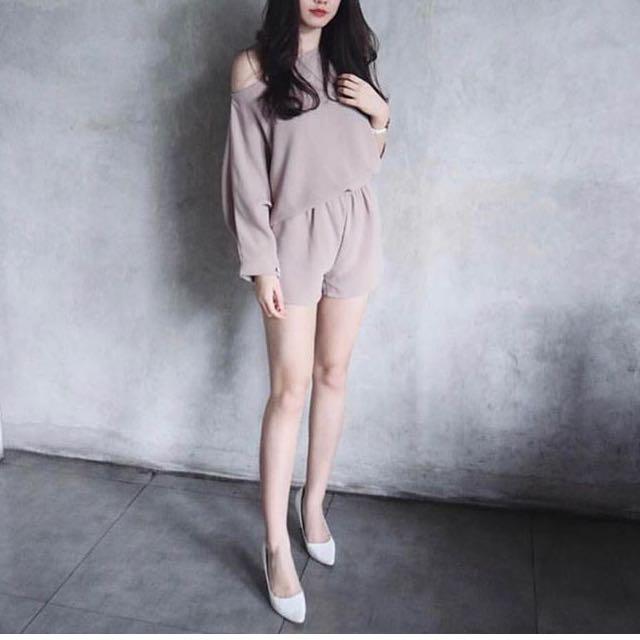 Sale Grey Jumpsuit