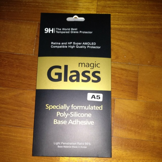 Samsung A5 Tempered Glass Screen Protector