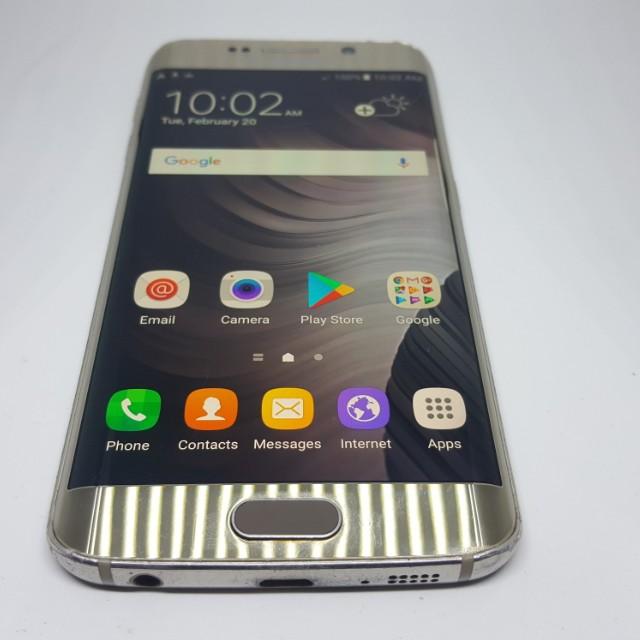 Samsung Galaxy S6 Edge 64GB NTC Platinum Gold 4G LTE