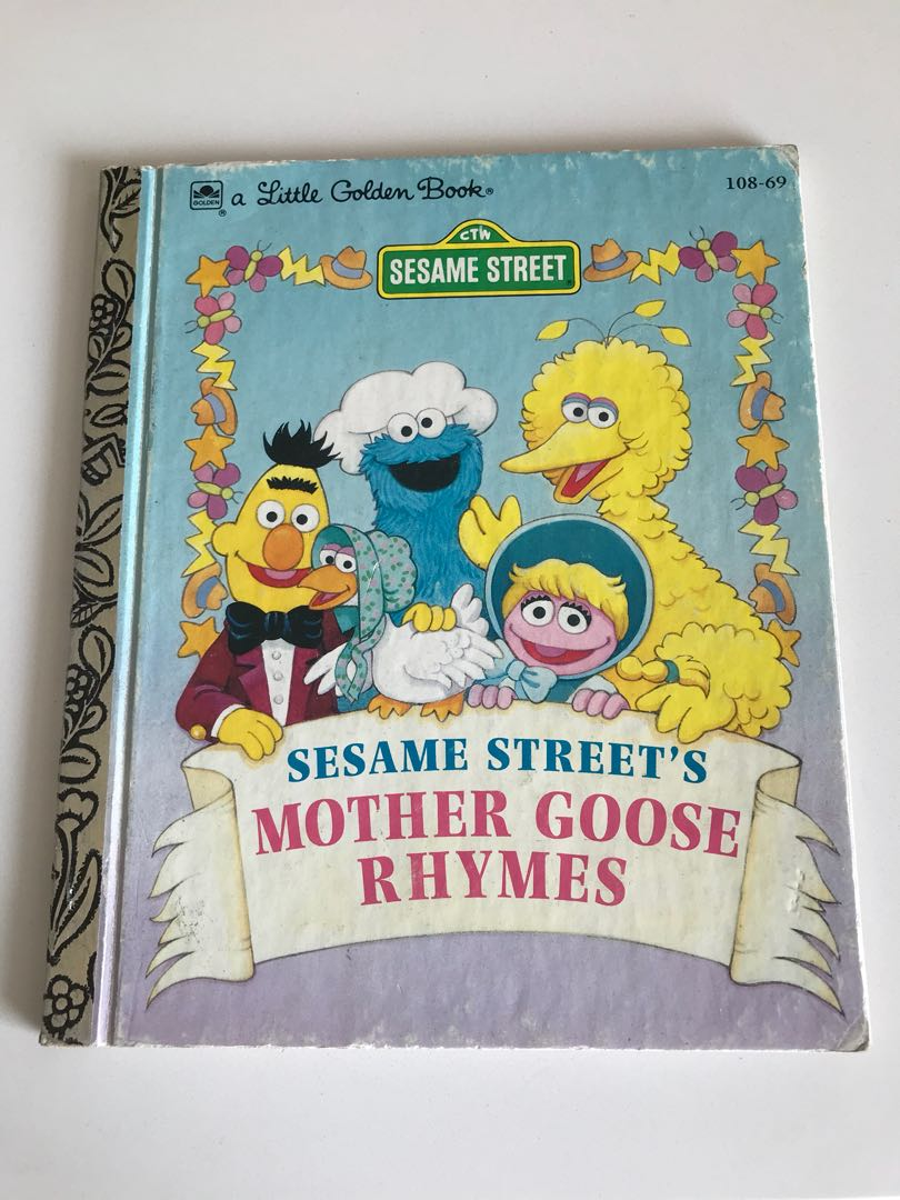 Sesame Street - Mother Goose Rhymes - Little Golden Book