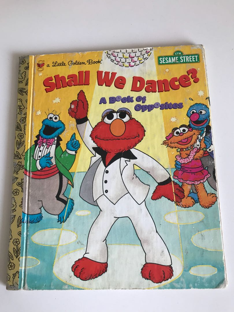 Shall We Dance - A Book Of Opposites - Little Golden Book