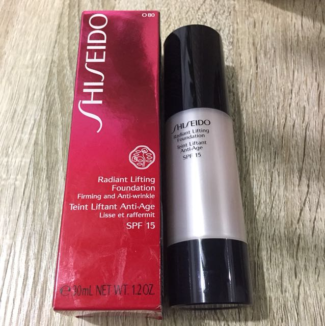 Shiseido Radiant Foundation
