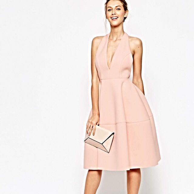 Size 6 Plunge Formal Dress (6- 10)