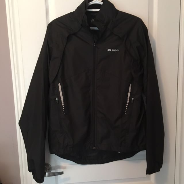 SUGOi black windbreaker