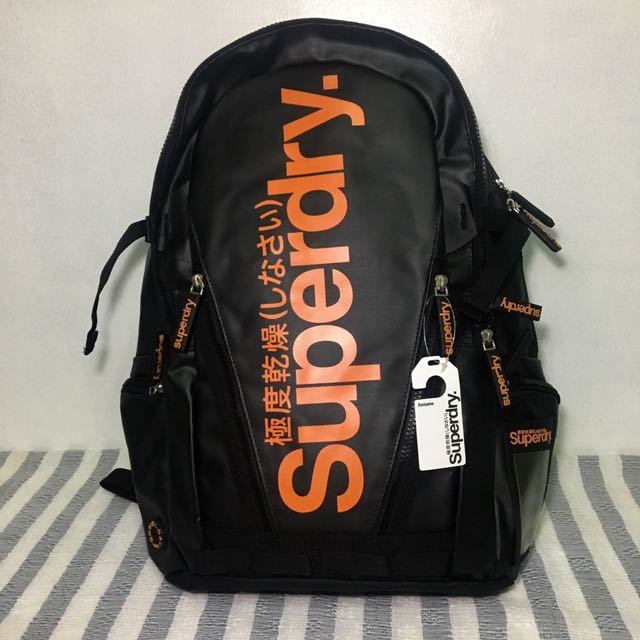 Superdry Tarp Bag Black Orange Men S Fashion Bags Wallets On Carou