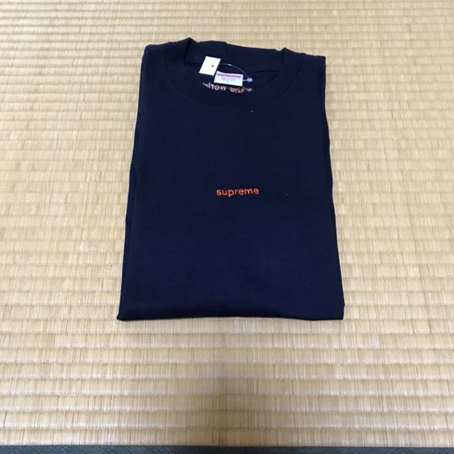 ed01486baddb Supreme FTW Tee (Navy), Men's Fashion, Clothes on Carousell