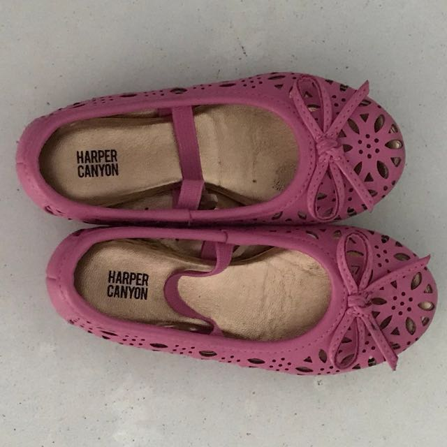 Synthetic Leather Laser Cut Kids Shoes