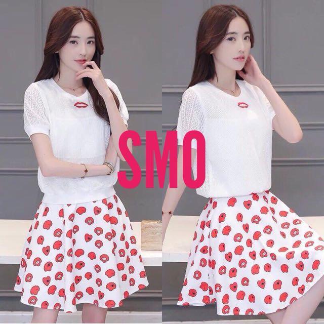 TERNO top+skirt