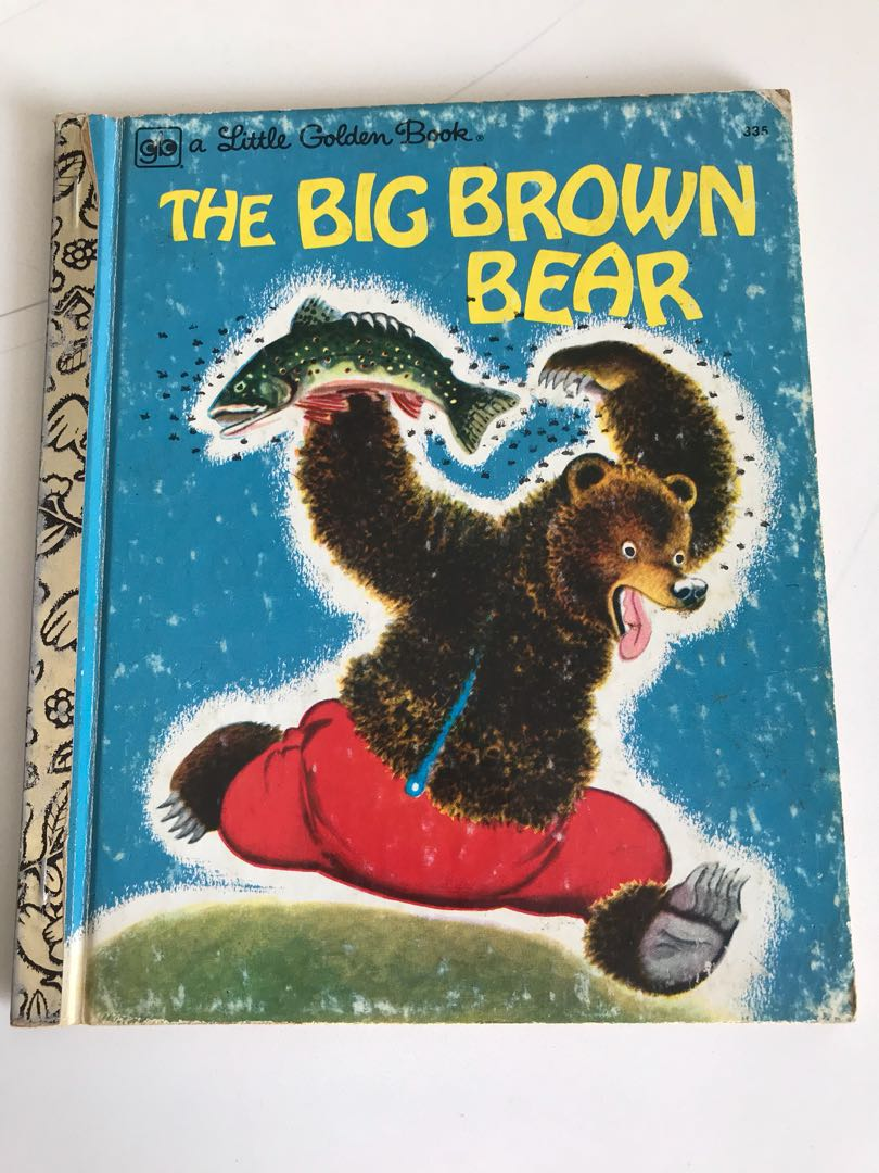 The Big Brown Bear - Little Golden Book