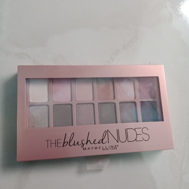 The Blushed Nudes Eyeshadow