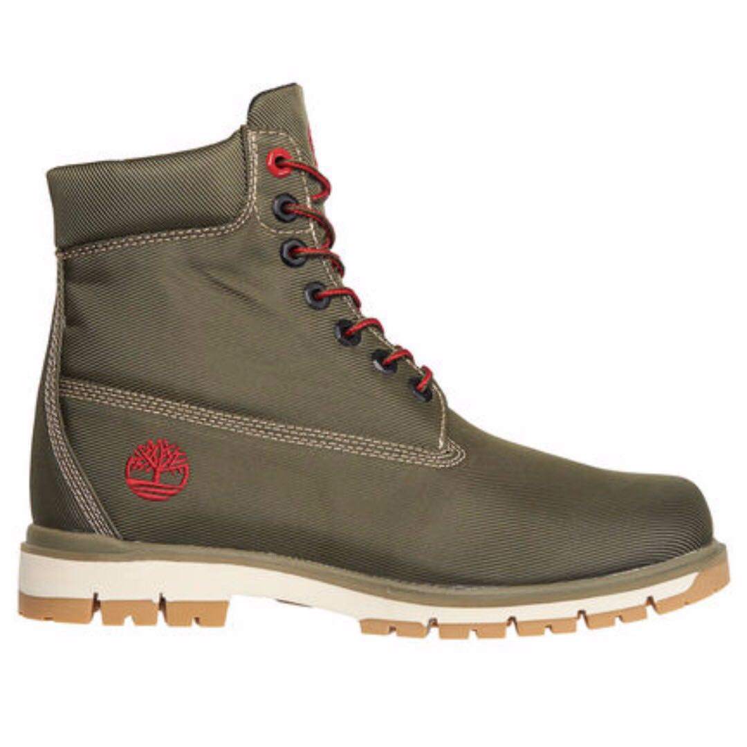 Beroemd TIMBERLAND Men's Radford canvas 6 Inch Boots in Olive Green  @FV49