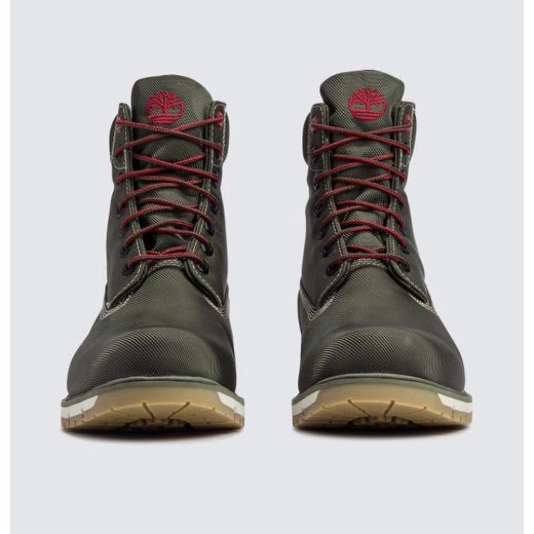 Favoriete TIMBERLAND Men's Radford canvas 6 Inch Boots in Olive Green  @AZ14