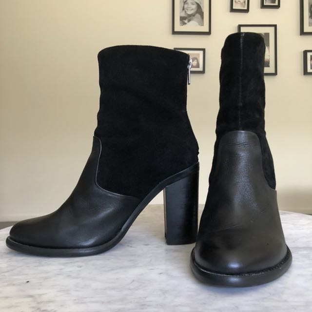 Tony bianco suede/leather boots