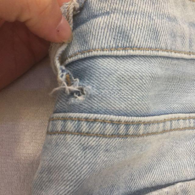 Topshop denim shorts 8