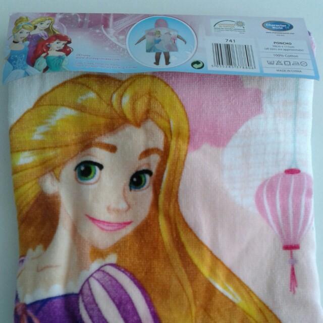 TOWEL PONCHO Disney Princess