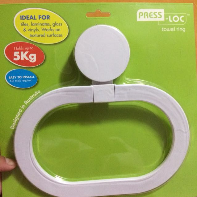 Towel ring - suction