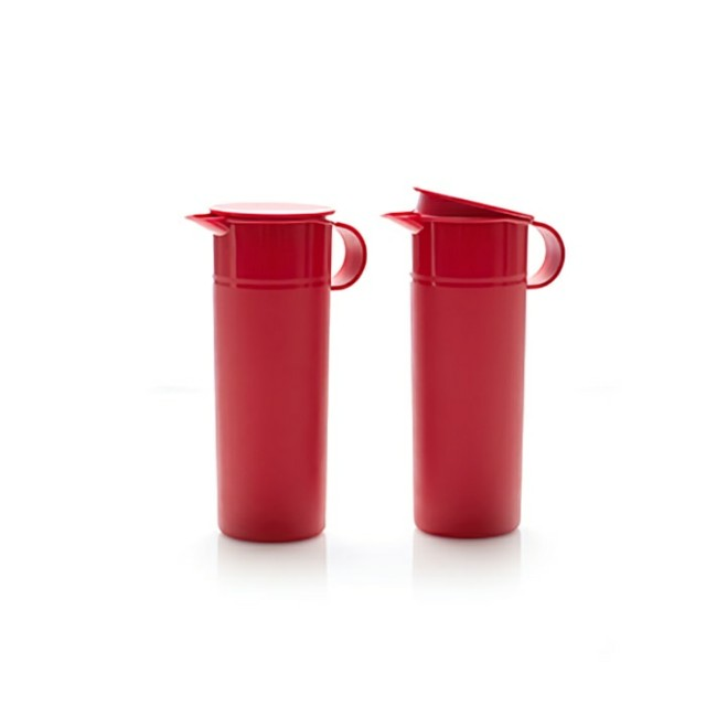 Tupperware lucky red pitcher 2pcs